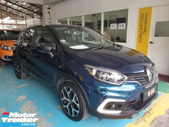 2018 RENAULT CAPTUR 1.2cc Turbocharged E6 Pre-Owned Model Clear Sales