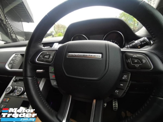 2016 LAND ROVER EVOQUE Dynamic (9 SPEED) unreg