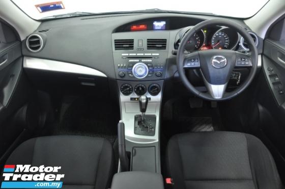 2013 MAZDA 3 BL Sedan 4dr GL SA 4sp FWD 1.6i