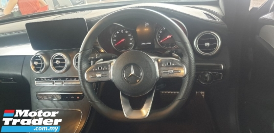 2019 MERCEDES-BENZ C-CLASS C300 2.0 Coupe AMG In Line INC SST 2 YEARS WARRANTY Unreg