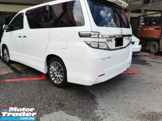 2013 TOYOTA VELLFIRE 2013 TOYOTA VELLFIRE GOLDEN EYES NEW FACELIFT REG 2016