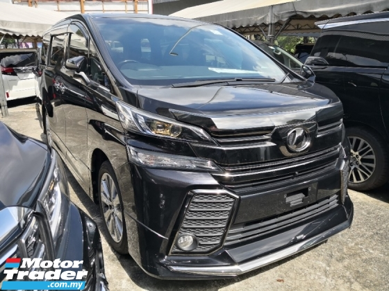 2017 TOYOTA VELLFIRE 2.5 Golden Eyes Modelista Bodykit 360 Cameras INC SST 2 YEARS WARRANTY Japan Unreg