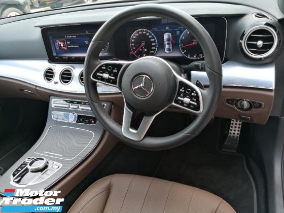 2019 MERCEDES-BENZ E-CLASS E200 New Model TRUE YEAR MADE 2019 SportStyle Avantgarde Pre Reg Car Interest 2.xx Warranty Oct 2023