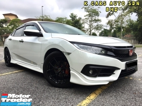 2016 HONDA CIVIC 1.5 TC PREMIUM TRUE YEAR