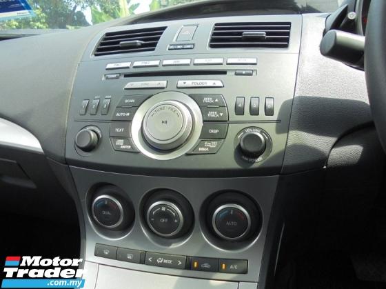 2013 MAZDA 3  2.0 SPORT Sedan P/Shift Facelift LOAN/K