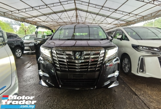 2017 TOYOTA ALPHARD 2.5 SC ALPINE SOUND DUAL SUNROOF PRE CRASH 4 CAMERA  2017 JAPAN UNREG FREE GMR WARRANTY