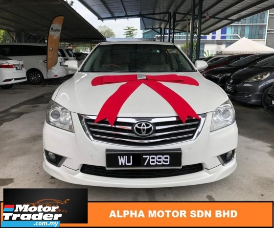 2010 TOYOTA CAMRY 2.4 V FACELIFT (A) YEAR END PROMO