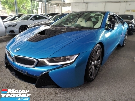 2016 BMW I8  HEAD UP DISPLAY 360 SURROUND CAMERA HARMAN KORDON SOUND SYSTEM PADDLE SHIFT