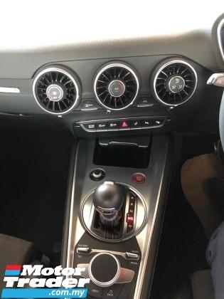 2017 AUDI TTS 2.0 2.0 TTS S LINE TFSI ENGINE 310-HORSEPOWER 6-SPEED ALL WHEEL DRIVE (QUATTRO) S LINE