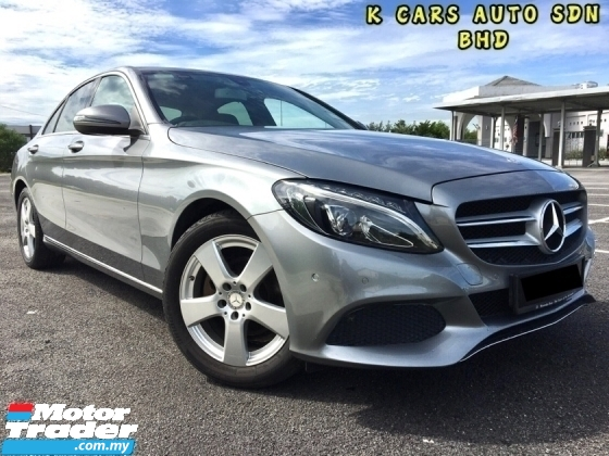 2016 MERCEDES-BENZ C-CLASS C180 AVANTGARDE (A) TIPTOP CONDITION