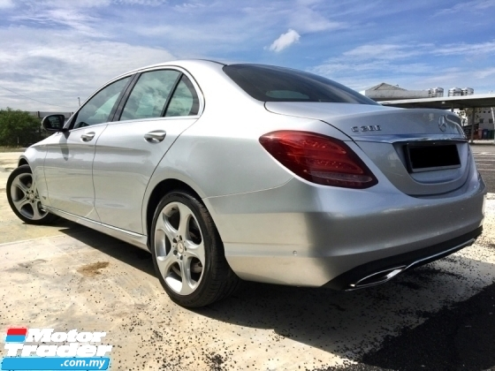 2016 MERCEDES-BENZ C-CLASS C200 2.0 (A) GOOD CONDITION