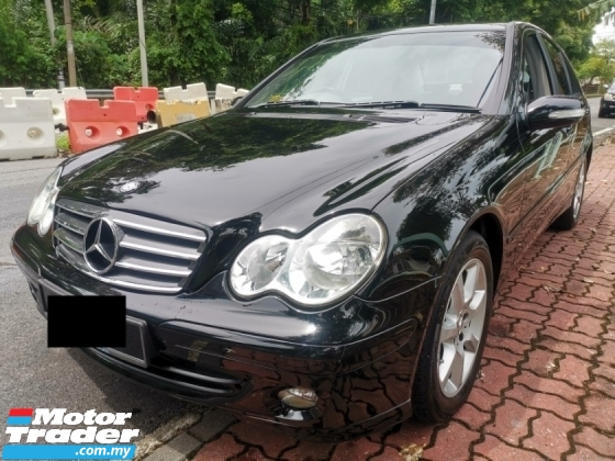 2005 MERCEDES-BENZ C-CLASS Mercedes Benz C180K 1.8 (A) 1 OWNER FULL LEATHER SEAT