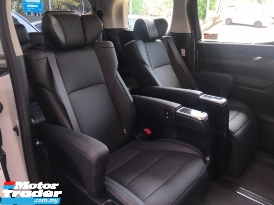 2019 TOYOTA ALPHARD 2.5 SC Grade 6A 3 LED Digital Inner Mirror Sun Roof Full Leather Pilot Seat BSM PCS LTA RSC Unreg