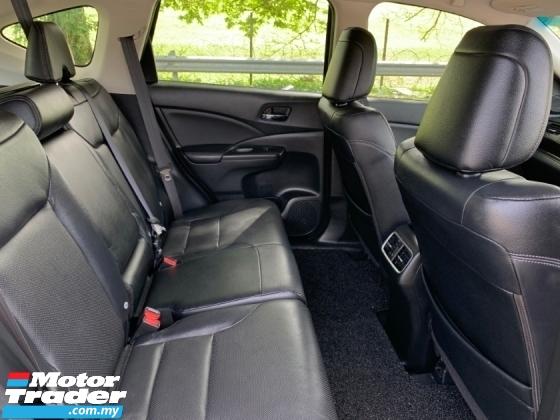 2016 HONDA CR-V 2.4 4WD FACELIFT (A) 1 Owner Only Original Paint
