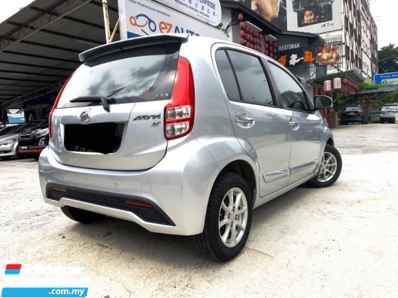 2015 PERODUA MYVI 1.3 X (A)  With Perodua Service Record 35KM Only