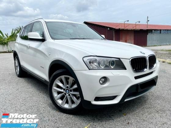 2013 BMW X3 XDRIVE2.0I 2.0 AT CKD 8 SPEED SUV LOW MILEAGE