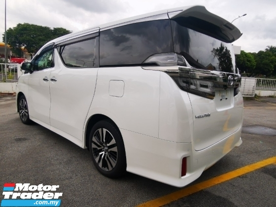2018 TOYOTA VELLFIRE 2.5ZG - Only The Best Deal In Town - Japan Unreg
