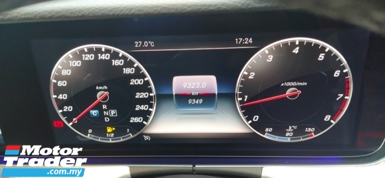 2019 MERCEDES-BENZ E-CLASS E200 2.0cc SportStyle Avant-Garde (A) L/MILE 9K KM