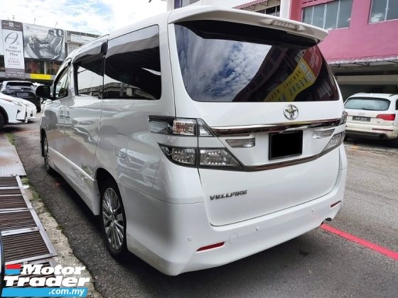 2013 TOYOTA VELLFIRE 2.4 Z GOLDEN EYES FACELIFT REG2016 FREE 2Yrs WRNTY
