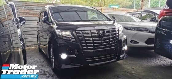 2016 TOYOTA ALPHARD 2.5 SA S UNREG.3 POWER DRS N BOOT.360 SURROUND CAM.ALPHINE.XENON LAMP.PRE CRASH.FREE WARRANTY N GIFT