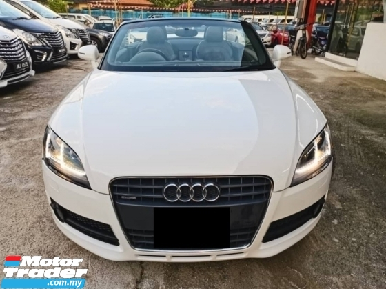 2008 AUDI TT 2.0 TFSI CABRIOLET- ONE VIP OWNER + LOW MILEAGE !