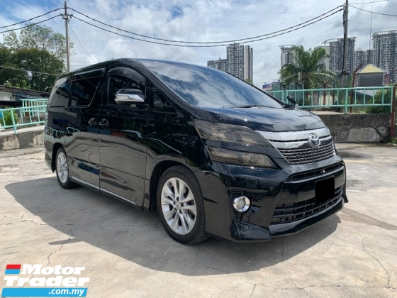 2008 TOYOTA VELLFIRE 3.5 ZG PILOT SEAT WITH HOME THEATER FULL SPEC