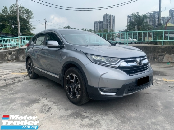 2018 HONDA CR-V TURBO 1.5 TC FULL SERVICE RECORD BY HONDA