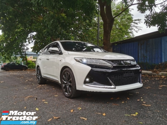 2018 TOYOTA HARRIER 2.0 TURBO GR