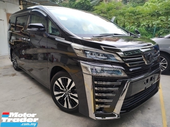 2018 TOYOTA VELLFIRE 2.5 ZG NAPPA LEATHER PILOT SEATS 3 LED HEADLAMPS 360 SURROUND CAMERA 2 YEARS WARRANTY