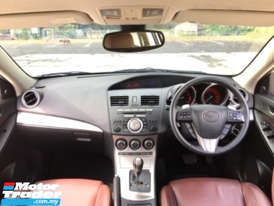 2013 MAZDA 3 2.0 GLS (A) LEATHER SEAT