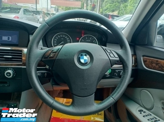 2009 BMW 5 SERIES 523I 2.5L- M-SPORT TIPTOP CONDITION + ONE OWNER