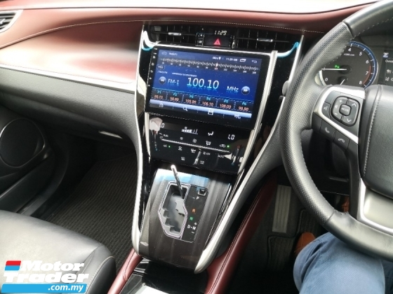 2018 TOYOTA HARRIER 2.0 NON TURBO Android Player 360 Cameras Pre Crash Lane Keeping Assist INC SST 3 YRS WARRANTY UNREG