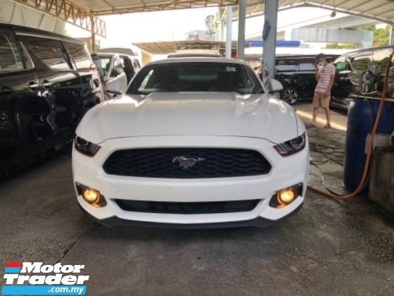 2016 FORD MUSTANG Unreg Ford Mustang GT Coupe 2.3 Turbo Camera Paddle Shift ECOBOOST Turbocharged Engine Push Start