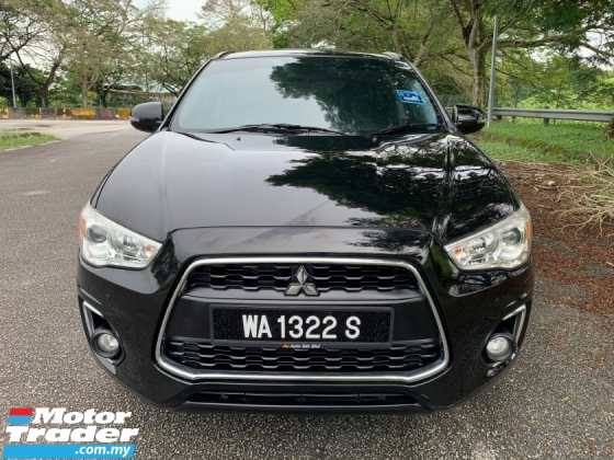 2015 MITSUBISHI ASX 2.0L (A) 4WD Full Service Record 1 Lady Owner Only