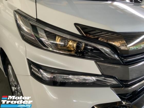 2017 TOYOTA VELLFIRE 2.5 Golden Eye sunroof surround camera power boot precrash system