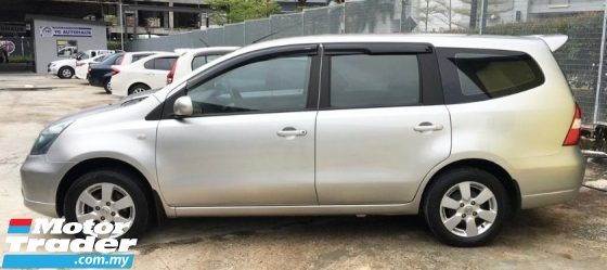 2009 NISSAN LIVINA 1.6 AT MPV LOW MILEAGE ONE OWNER TIP TOP CONDITION