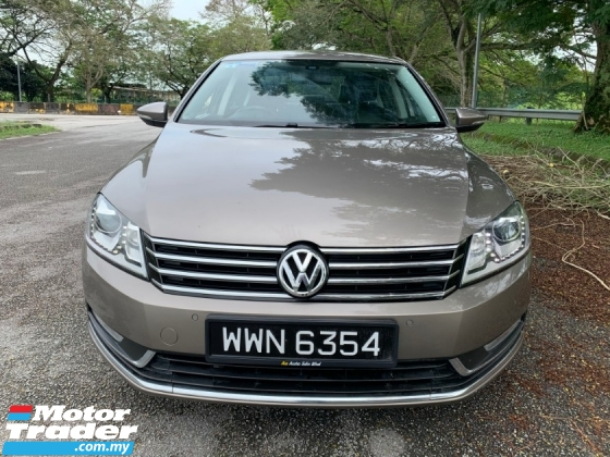 2012 VOLKSWAGEN PASSAT 1.8 (A) TSI Full Service Record 1 Lady Owner Only