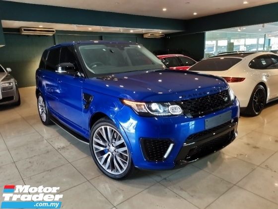 2017 LAND ROVER RANGE ROVER SPORT 5.0L SVR With Sport Exhaust System* U.K Land Rover Approved Pre-Owned* Cayenne Velar Sport Vogue GTS
