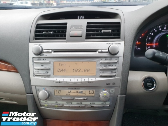 2010 TOYOTA CAMRY 2.4 V FACELIFT (A) NICE NUMBER GOOD CONDITION