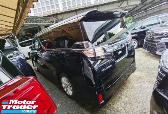 2016 TOYOTA VELLFIRE 2.5 Z 4 CAMERA 7 SEAT POWER BOOTH BODYKIT WITH DAYLIGHT PRE CRASH 2016 JAPAN UNREG