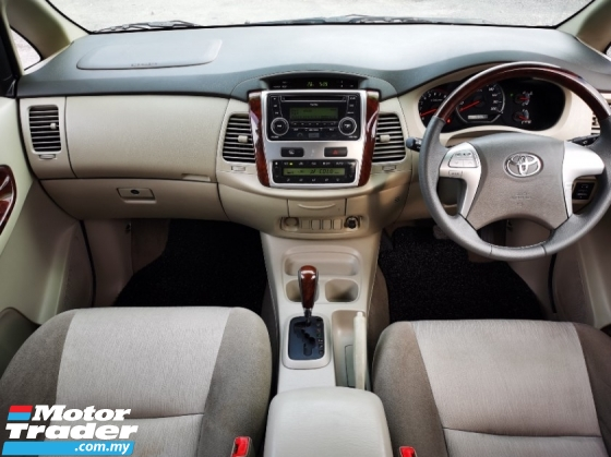2011 TOYOTA INNOVA 2.0 G FACELIFT (A) 1 OWNER - SPECIAL NUMBER