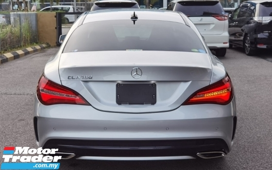 2017 MERCEDES-BENZ CLA 2017 MERCEDES BENZ CLA180 1.6 AMG FACELIFT TURBO UNREG JAPAN SPEC CAR SELLING PRICE ONLY RM 185000