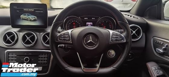 2016 MERCEDES-BENZ CLA 2016 MERCEDES BENZ CLA180 1.6 AMG FACELIFT TURBO UNREG JAPAN SPEC CAR SELLING PRICE ONLY RM 173000