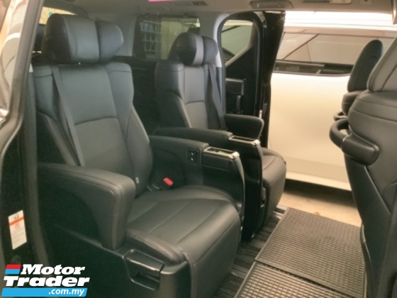 2017 TOYOTA VELLFIRE 2.5 ZG pilot seat precrash surround camera sunroof