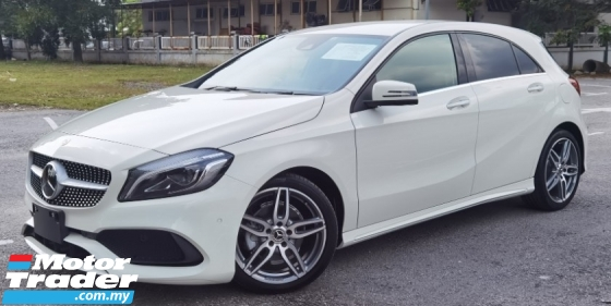 2018 MERCEDES-BENZ A-CLASS 2018 MERCEDES BENZ A180 UPDATE TO AMG SPEC 1.6 TURBO UNREG JAPAN SPEC CAR SELLING PRICE ONLY