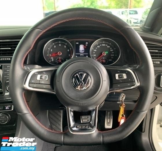 2013 VOLKSWAGEN GOLF GTI MK7 2.0 (A) Facelift Hatchback Model