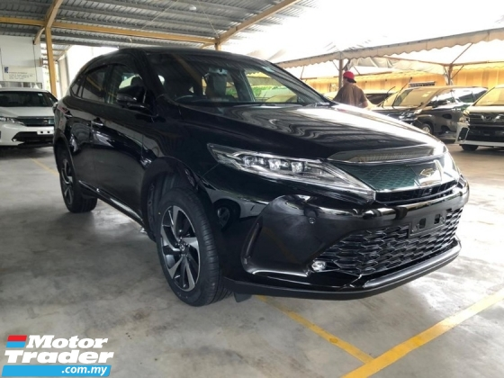 2018 TOYOTA HARRIER 2.0 PREMIUM TURBO POWER BOOT NO HIDDEN CHARGES