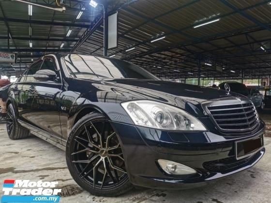 2007 MERCEDES-BENZ S-CLASS Mercedes Benz S350 L 3.5 (A) AMG EDI S/ROOF WRRNTY
