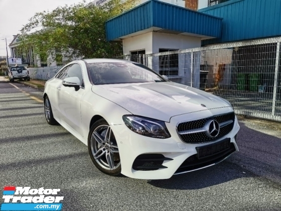 2019 MERCEDES-BENZ E-CLASS E350 AMG Premium Plus Coupe* U.K M.Benz Approved Pre-Owned* 100%-Genuine Mileage* E300 E200 C300