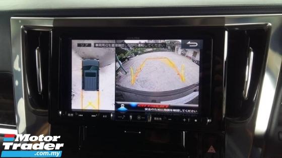 2016 TOYOTA ALPHARD 2.5 SA 7 Seater Power Boot Alpine Sound System